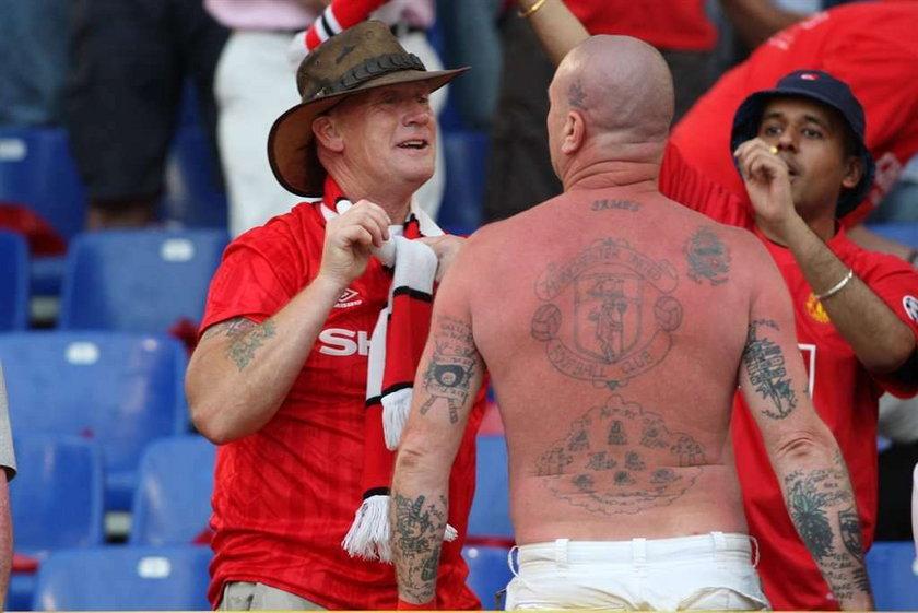 Fanatyczni kibice i ich tatuaże!