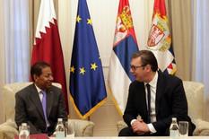 Vučić sa ambasadorom države Katar i šefom diplomatije Lesota