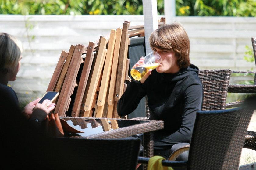 Monika Zamachowska na urlopie