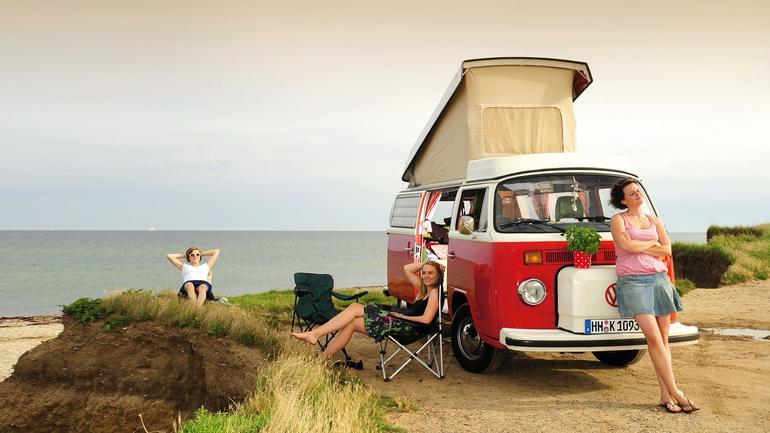 Volkswagen Bulik i jego właściciele - trzy przyjaciółki