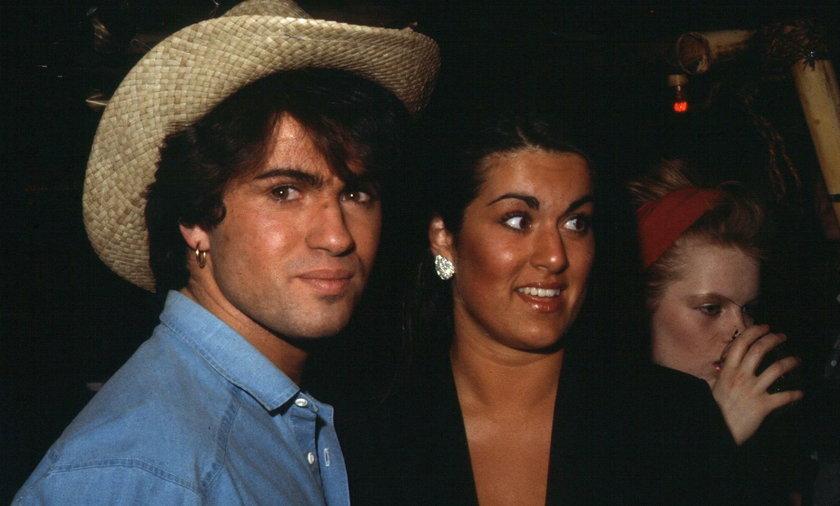 George Michael  z siostrą Melanie
