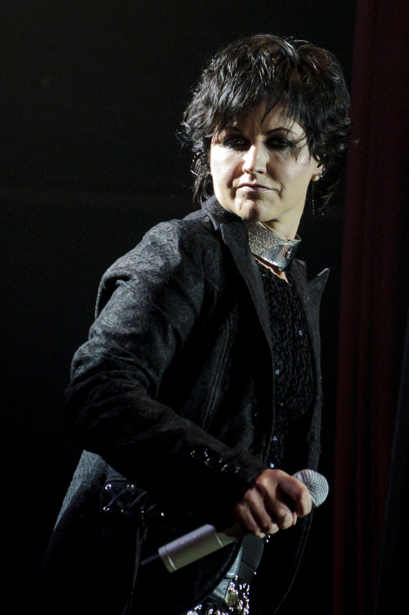 Dolores O'Riordan w maju 2012 roku w Toronto