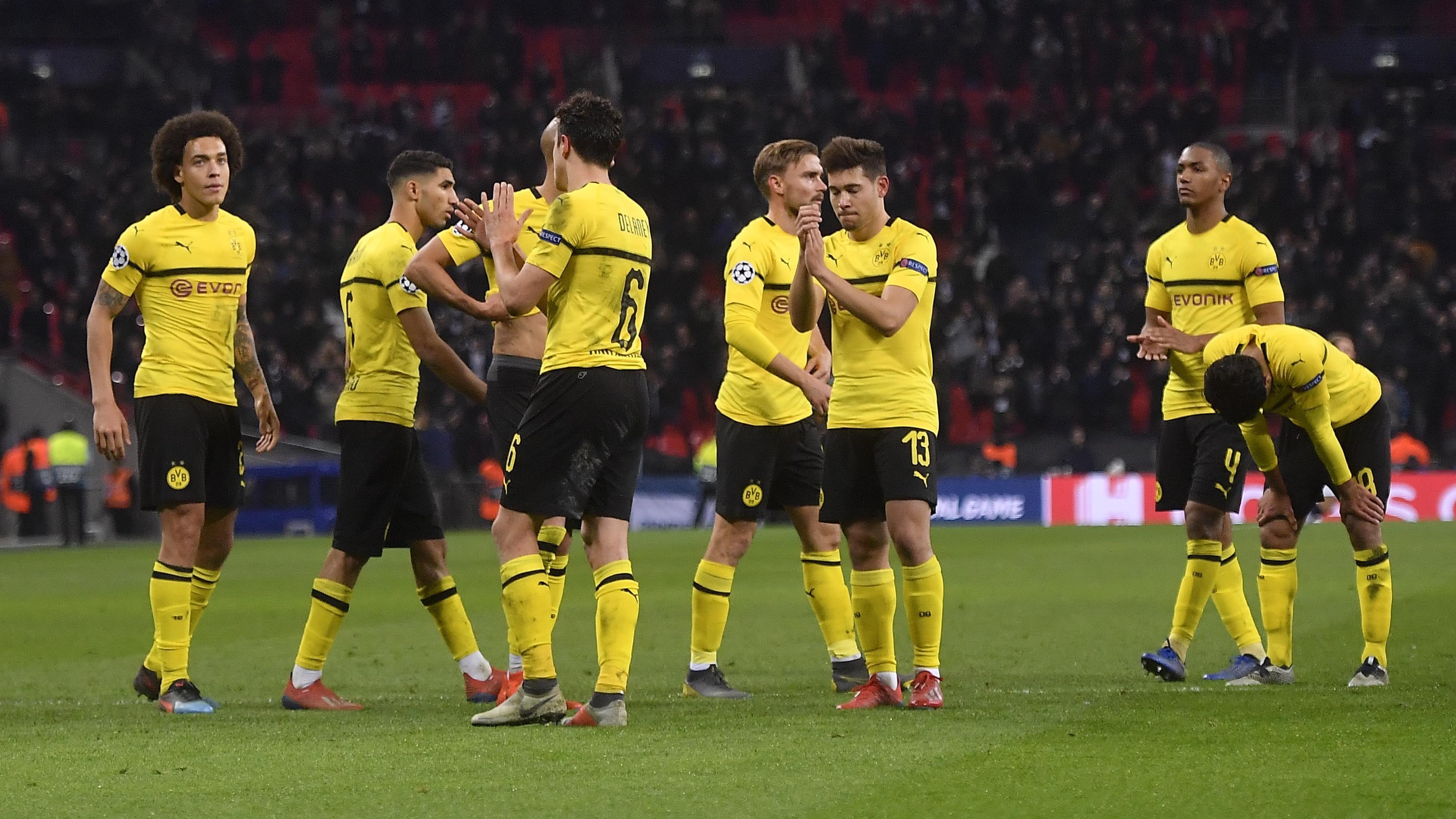 Piłkarze Borussii Dortmund Sprawiają Problemy Wychowawcze Bundesliga