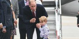 Mina synka księcia Williama mówi wszystko. Co szeptał mu ojciec?
