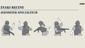 Znaki ręczne jednostek specjalnych