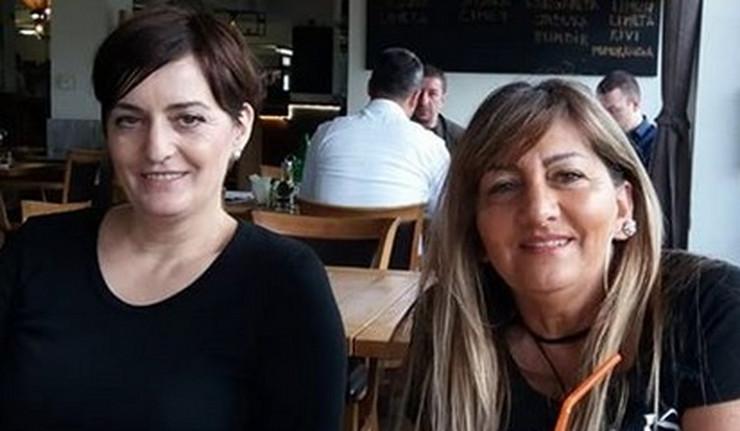 Biljana Dragojević i Ljiljana Korać
