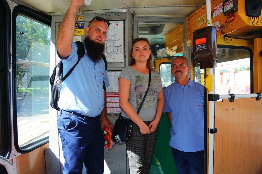 Kierowca autobusu i motorniczy łódzkiego MPK uratowali Magdę Zielińską, koleżankę z pracy
