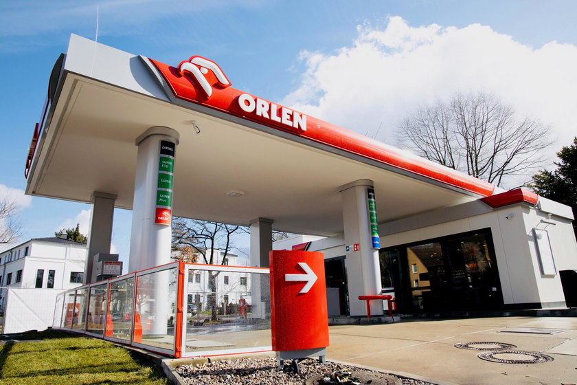 Tak wyglądają niemieckie stacje Orlen.