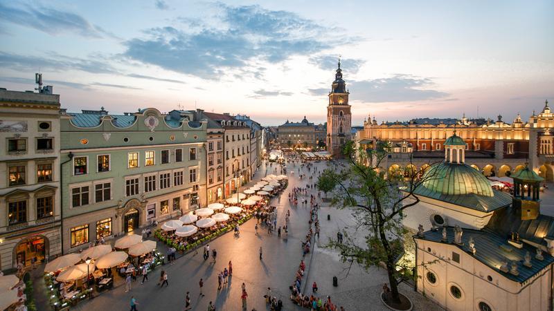Kraków - Market Square