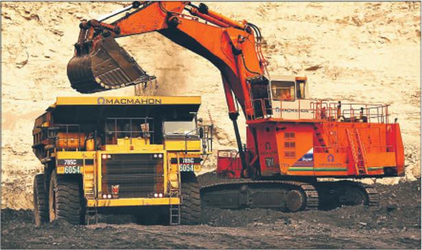 Wydobycie węgla. Fot. Bloomberg