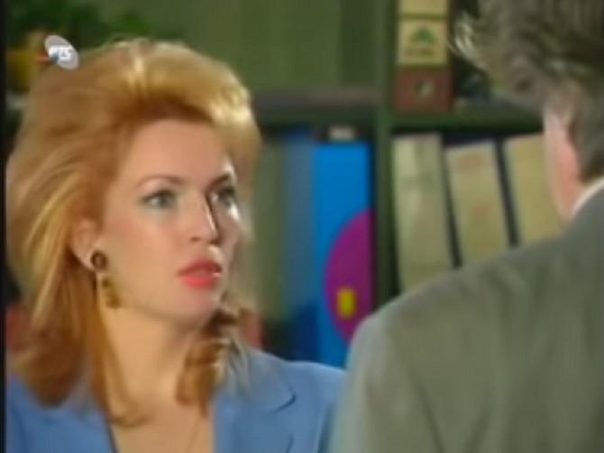 """Gordana Bjelica u ulozi Bebe u seriji """"Srećni ljudi"""""""