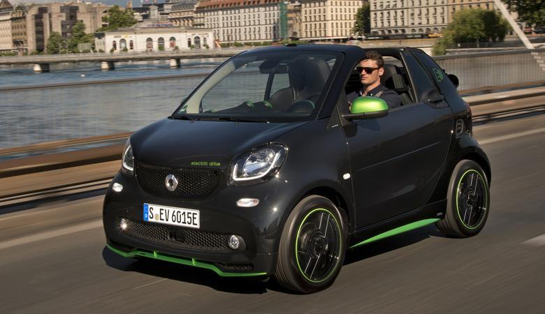 Smart Fortwo Cabrio Electric
