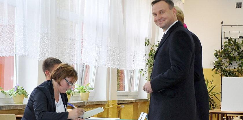 Tak głosowali znani Polacy! Zdjęcia