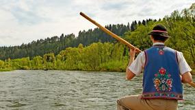 Małopolskie: rekordowa frekwencja turystyczna na spływie Dunajcem