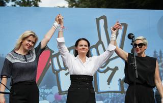 Białoruskie opozycjonistki i społeczeństwo laureatami nagrody McCaina