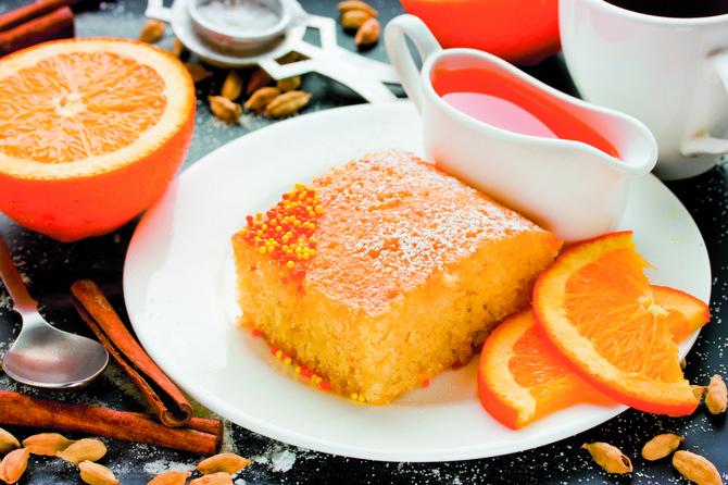 Napravite grčku pitu s narandžama