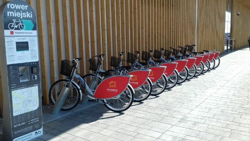 Wypożyczalnia rowerów Nextbike w Poznaniu