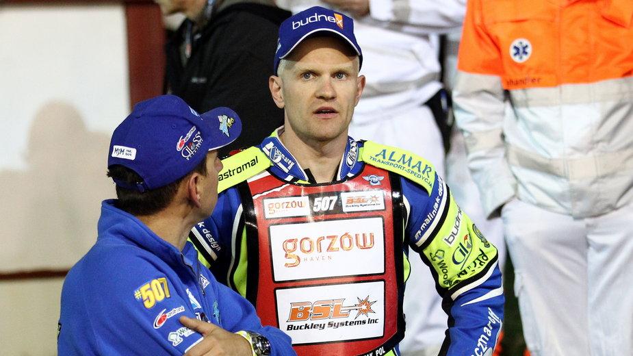 Rafał Lewicki i Krzysztof Kasprzak