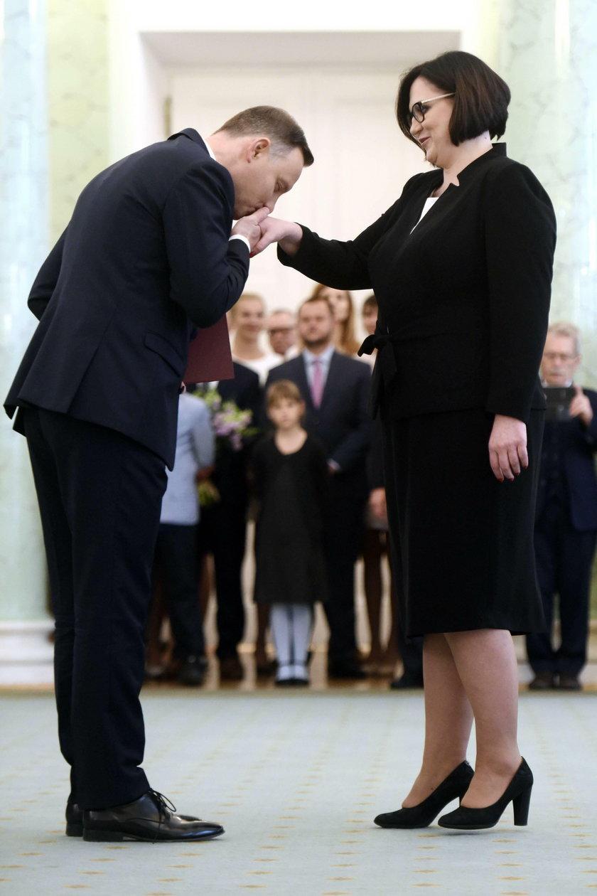 Prezydent nagrodził Sadurską