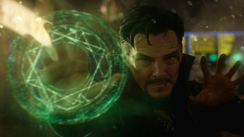 "Benedict Cumberbatch w filmie ""Doktor Strange"""