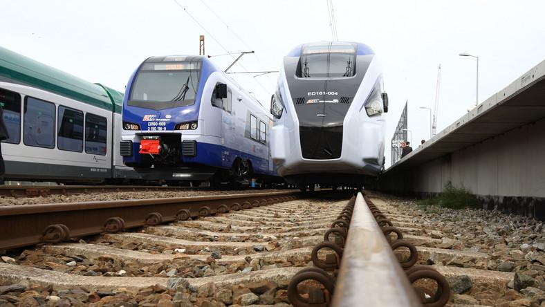 Składy nazywane polskim Pendolino zabiorą pasażerów, którzy przed godziną 17 będą chcieli pojechać z Warszawy do Lublina.