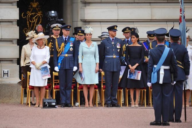 Britanska kraljevska porodica na okupu, bilo nekad u Velikoj Britaniji