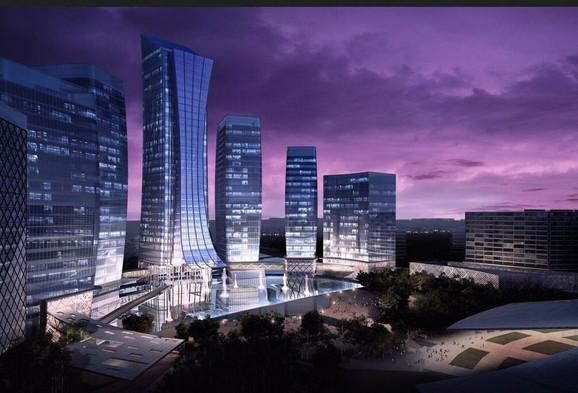 Minsk World, najveci gradjevinski poduhvat u Evropi koji realizuje BK grupa