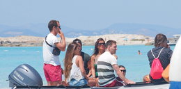 Messi bawi się na Ibizie