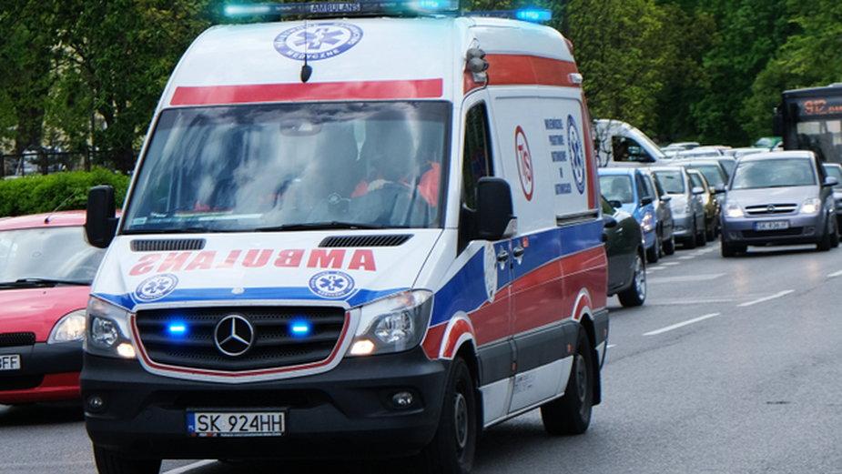 Lekarze przez osiem godzin walczyli o życie pacjentki