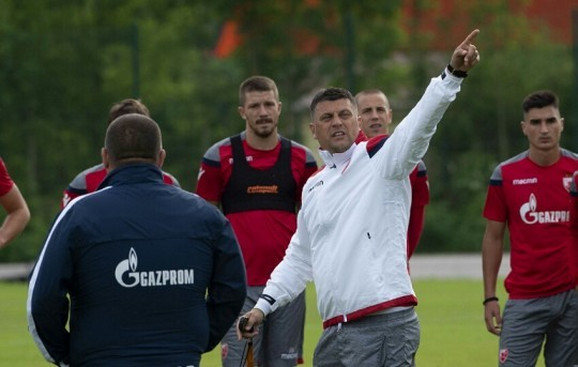Vladan Milojević, trener FK Crvena zvezda