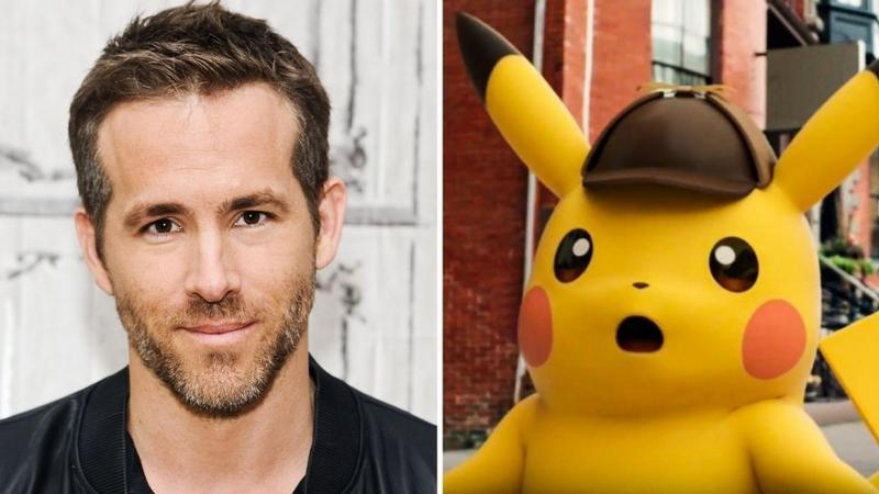 Ryan Reynolds w filmowym Pokemonie
