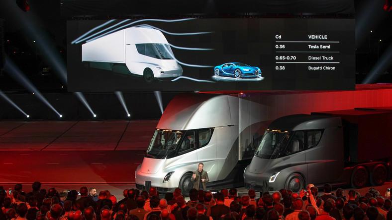 Tesla Semi zaskoczyła zasięgiem na jednym ładowaniu. Spodziewano się, że ten samochód ciężarowy będzie mógł maksymalnie przejechać na jednym ładowaniu akumulatora około 600 km. Podczas premiery Musk stwierdził, iż pół godziny ładowania ma wydłużać zasięg o 400 mil, czyli około 640 km. A jednorazowe ładowanie do pełna ma wystarczyć na 500 mil (ponad 800 km)…