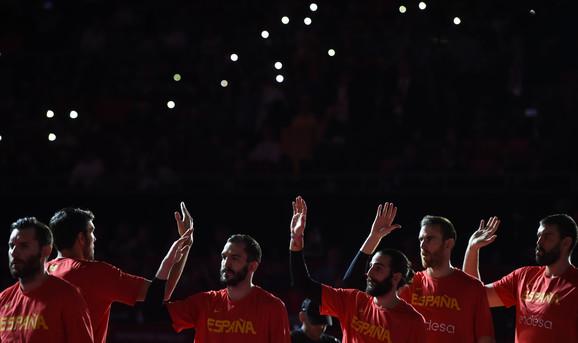 Detalj sa finalnom meča Svetskog prvenstva Španija - Argentina