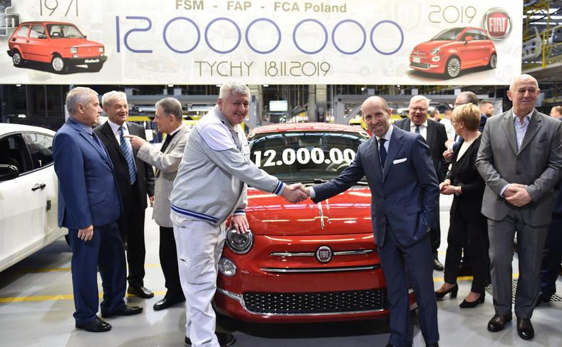 W Tychach pojawił się Luca Napolitano, szef marki Fiat na Europę Środkową i Wschodnią