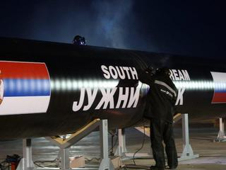 SERBIA SOUTH STREM GAS PIPELINE