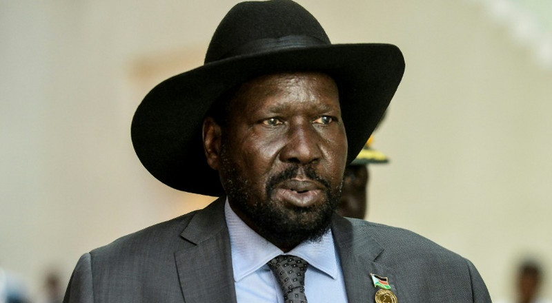 South Sudan's president, Salva Kirr, adds another feather on his black cowboy hat and bags 'spoiler of peace' award