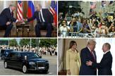 Kolaž Putin Tramp najzanimljiviji detalji
