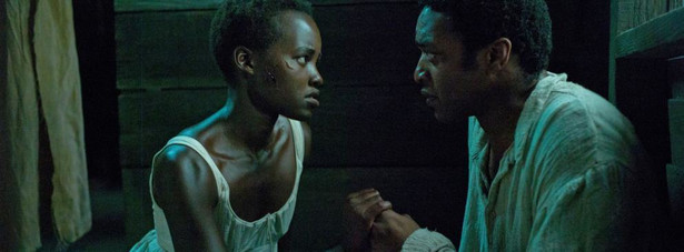 """Zniewolony. 12 Years a Slave"" Lupita Nyong'o, Chiwetel Ejiofor"