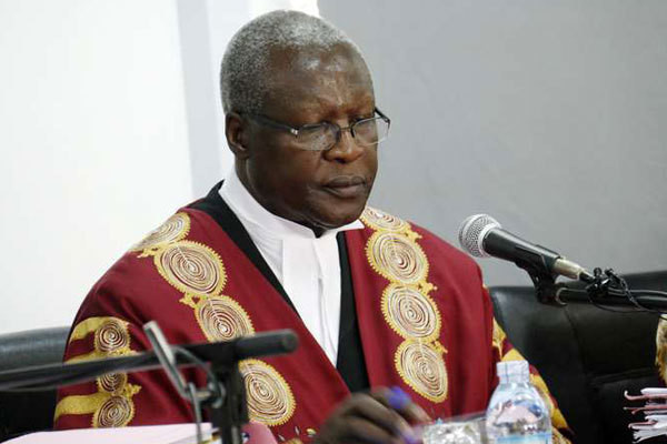 Uganda's Chief Justice Bart Katureebe. (nation)