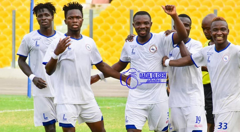 Berekum Chelsea earn first-ever win in Accra against Gt. Olympics