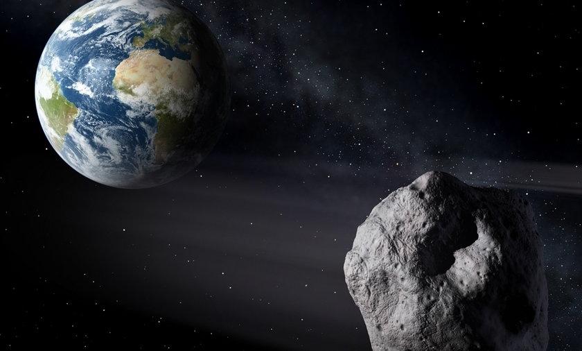 NASA będzie strzelać do asteroidów