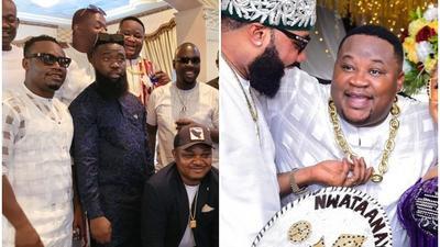Shut down Oba: Inside the extravagant funeral of Obi Cubana's mum that has got Nigerians talking