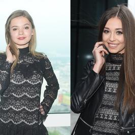 Julia Wróblewska i Izabella Krzan w niemal takich samych kreacjach na jednej imprezie