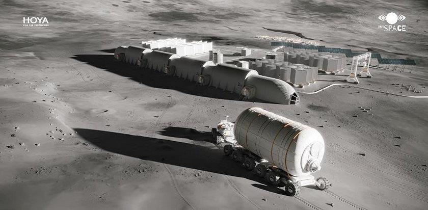 Projekt bazy księżycowej