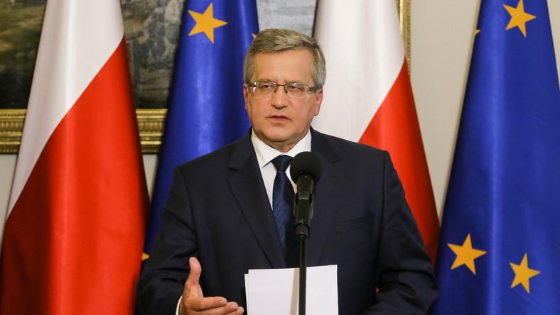 Prezydent Komorowski chce wzmacniać system obronny