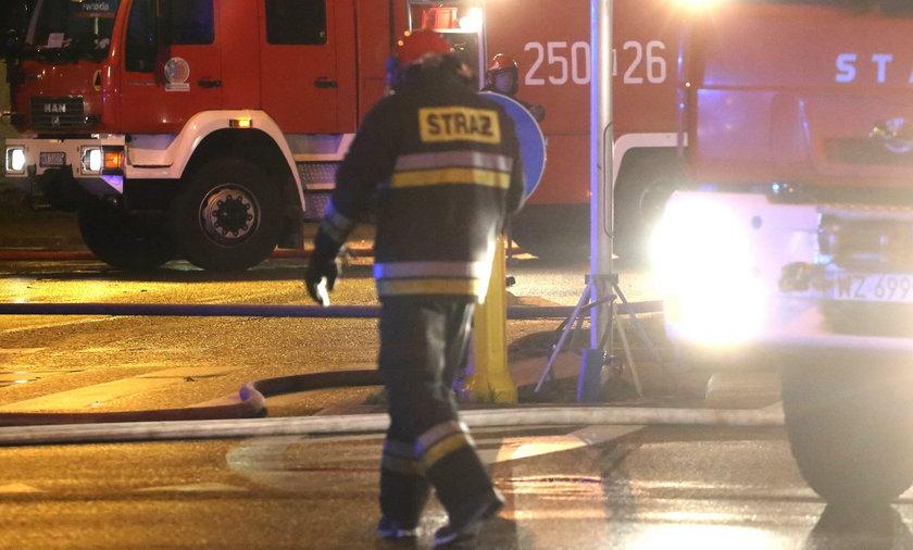 Wielkopolska: Pożar w szpitalu w Lesznie. Pacjent podpalił łóżko