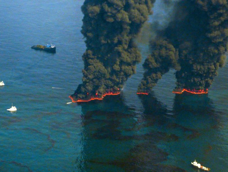 Wyciek ropy w Zatoce Meksykańskiej