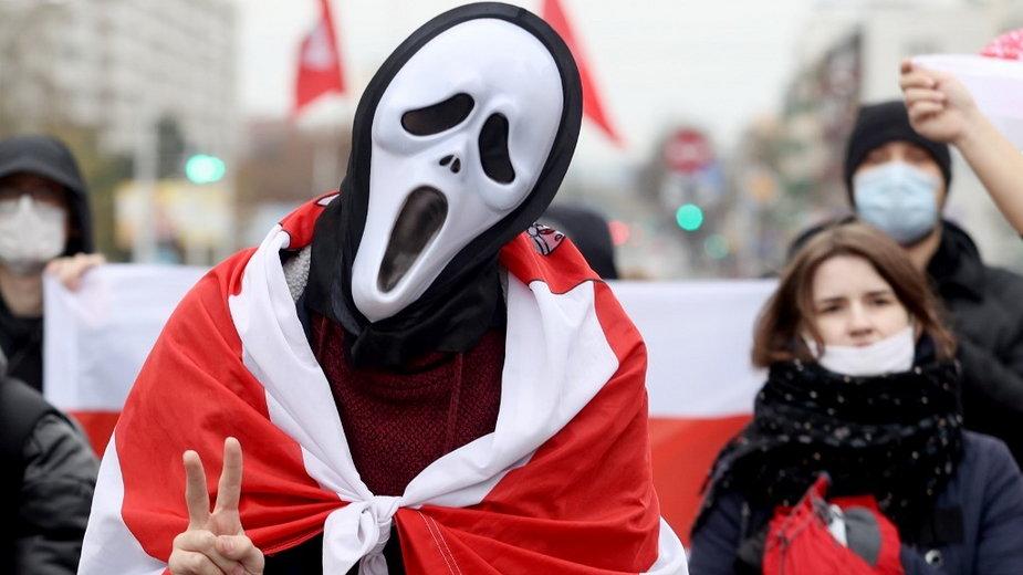 Protesty na Białorusi trwają już prawie pół roku