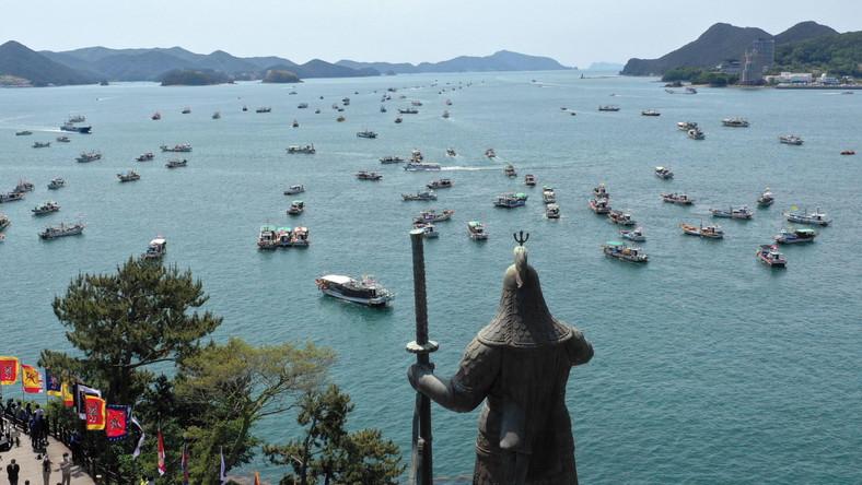 Protest w Korei Południowej przeciw decyzji Japonii
