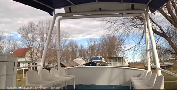 Krenuo je sa idejom da napravi čamac od tri metra, završilo se jahtom od čak 13